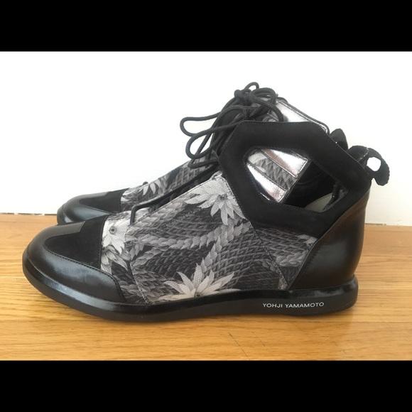 Y3 Black, grey, silver women's shoes